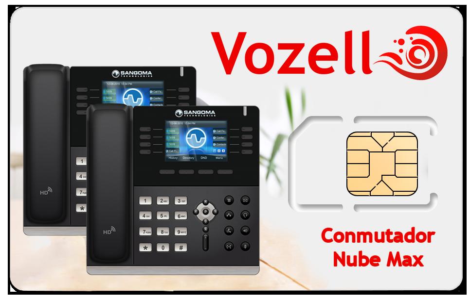 Plane Conmutador Virtual Vozell